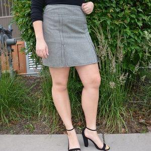 VTG Houndstooth Skirt